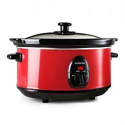 Klarstein Bristol 35, červený, 200 W, 3,5 litrů, elektrický hrnec
