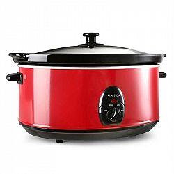 Klarstein Bristol 65, červený, pomalý hrnec, 300 W, 6,5 litrů
