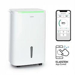 Klarstein DryFy Connect 40, odvlhčovač vzduchu, WiFi, komprese, 40l/d, 35-45m², bílý