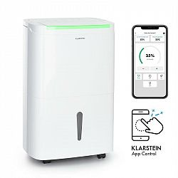 Klarstein DryFy Connect 50, odvlhčovač vzduchu, WiFi, komprese, 50l/d, 45-55m², bílý