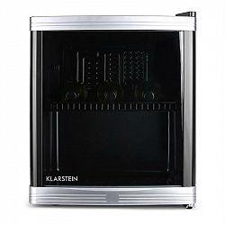 Klarstein HEA3-BEERLOCKER-B46, 46 litrů, mini lednička, třída B, černá