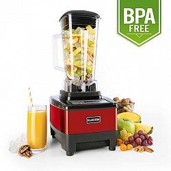 Klarstein Herakles-4G-E, 1500 W, 2 l, stolní mixér, červený, green smoothie, bez BPA