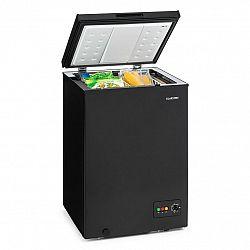 Klarstein Iceblokk 100, mrazící box, mrazák, 100 l, 75 W, A+, černá