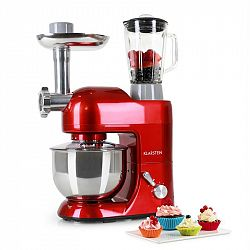 Klarstein Lucia Rossa, Kuchyňský robot, 1300 W, červená