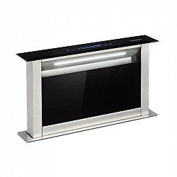 Klarstein Royal Flush Eco, výsuvný odsavač par, 60 cm, 576 m³/h, A+, černý