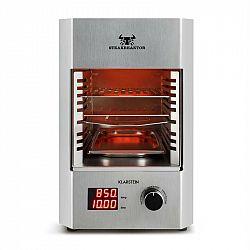Klarstein Steakreaktor 2.0 - stainless steel edition, interiérový gril, 1600 w, 850 ° c