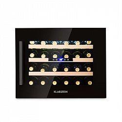 Klarstein Vinsider 24 Onyx Edition, vestavěná vinotéka, třída energetické účinnosti B